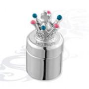 Серебряная детская шкатулка «Корона»